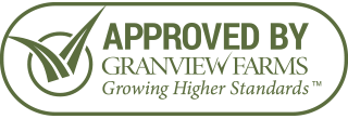 our landscaping sod was approved by granview farms