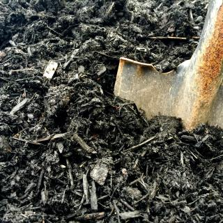 "<img src=""black_mulch.jpg"" alt=""our black mulch creates resistance to weed growth"">"